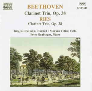 Jürgen Demmle, Markus Tillier, Peter Grabinger - Beethoven, Ries: Clarinet Trios (1998)