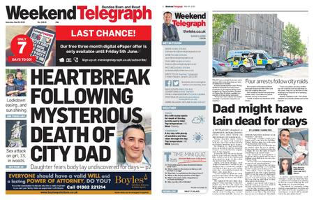 Evening Telegraph First Edition – May 30, 2020