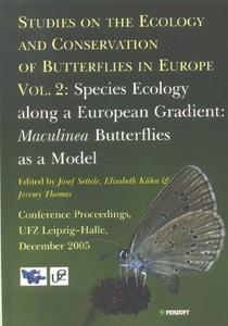 Studies on the Ecology and Conservation of Butterflies in Europe. Volume 2: Species Ecology along a European Gradient: Maculine