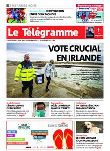 Le Télégramme Brest Abers Iroise – 08 février 2020