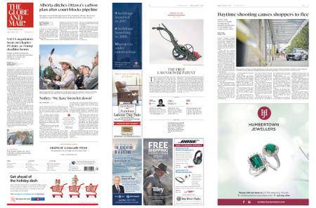 The Globe and Mail – August 31, 2018