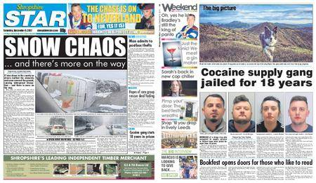Shropshire Star Shrewsbury Edition – December 09, 2017