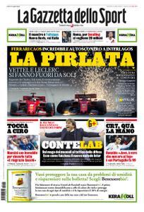 La Gazzetta dello Sport Roma – 18 novembre 2019