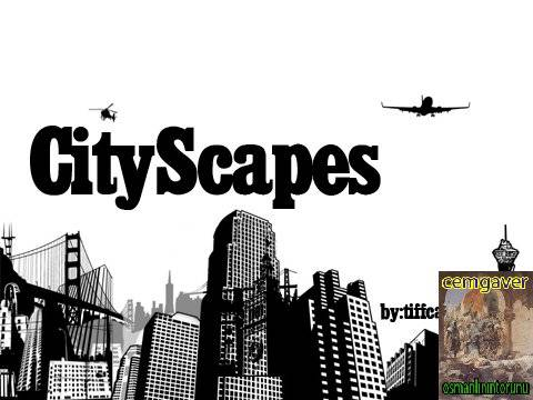 City Scapes Brushes