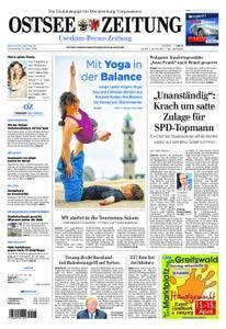 Ostsee Zeitung Wolgast - 12. April 2018