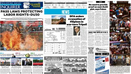 Philippine Daily Inquirer – May 02, 2019