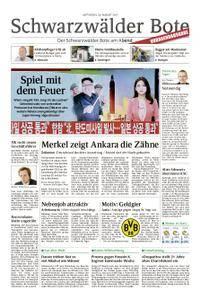 Schwarzwälder Bote Hechingen - 30. August 2017