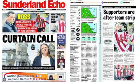 Sunderland Echo – May 23, 2019