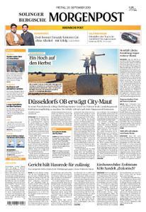 Solinger Morgenpost – 20. September 2019