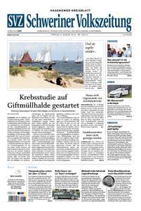 Schweriner Volkszeitung Hagenower Kreisblatt - 09. August 2019