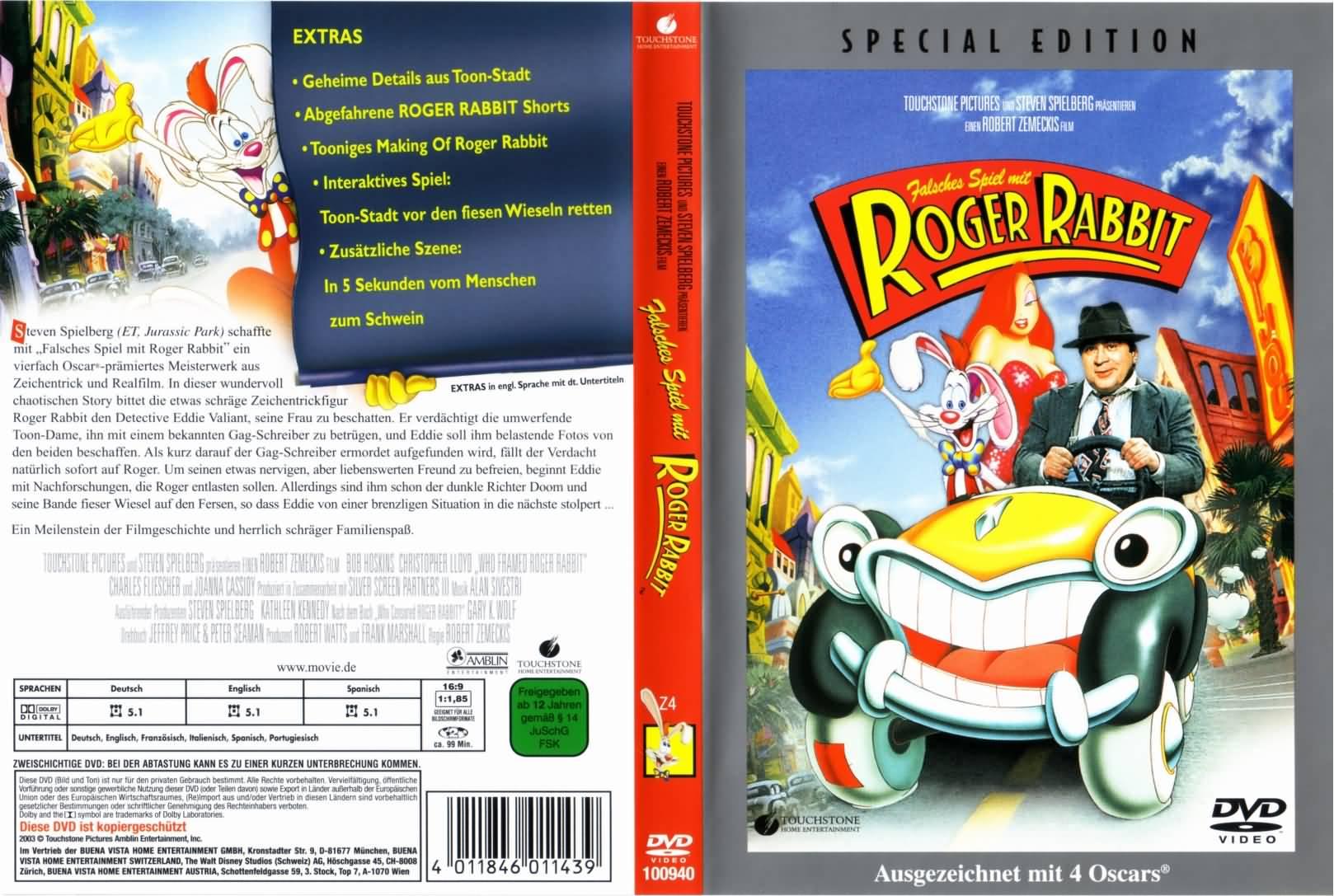 Falsches Spiel Mit Roger Rabbit Netflix