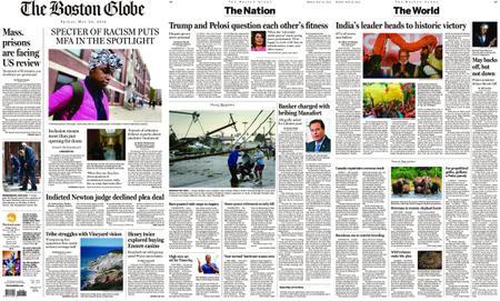 The Boston Globe – May 24, 2019