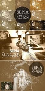 8 Sepia Photoshop Filters