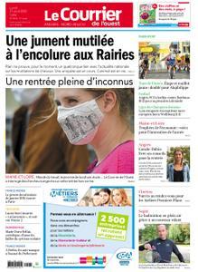 Le Courrier de l'Ouest Angers – 31 août 2020