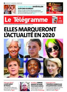 Le Télégramme Brest Abers Iroise – 02 janvier 2020