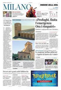 Corriere della Sera Milano - 5 Agosto 2018