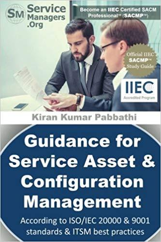 Guidance for Service Asset & Configuration Management