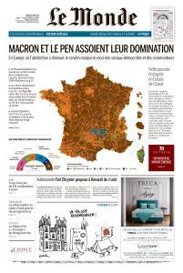Le Monde du Mardi 28 Mai 2019