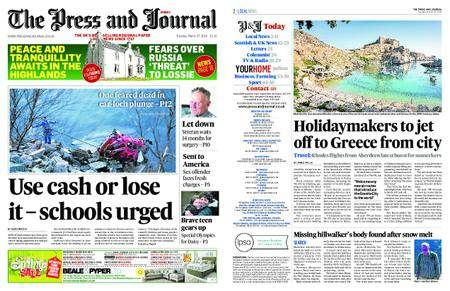 The Press and Journal Moray – March 27, 2018