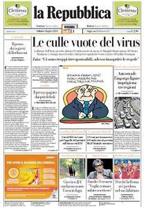 la Repubblica - 4 Luglio 2020