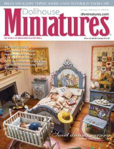Dollhouse Miniatures - Issue 61 - January-February 2018