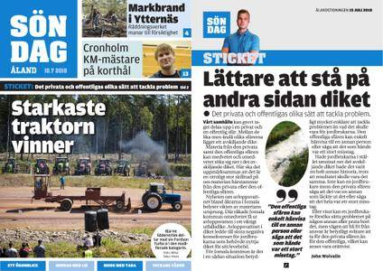 Ålandstidningen – 15 juli 2018