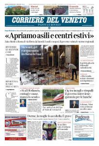 Corriere del Veneto Padova e Rovigo - 15 Maggio 2020