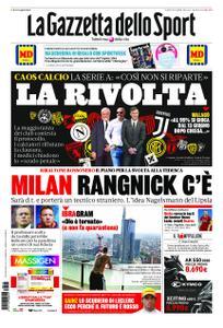 La Gazzetta dello Sport Roma – 15 maggio 2020