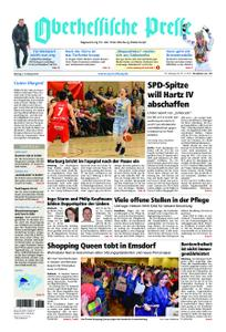 Oberhessische Presse Marburg/Ostkreis - 11. Februar 2019