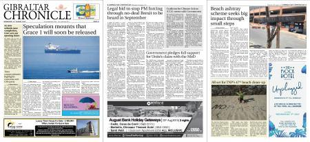 Gibraltar Chronicle – 14 August 2019