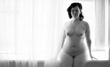 Intimate Portraiture - Nude Photography: Plus Size Model