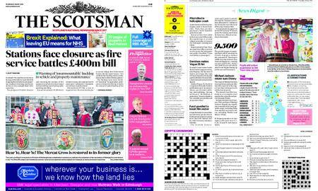 The Scotsman – May 31, 2018