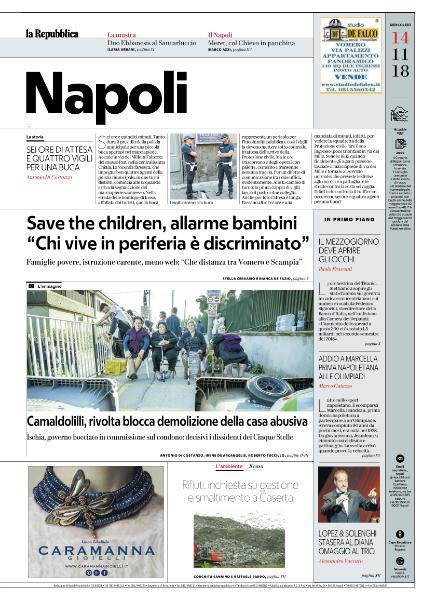 la Repubblica Napoli - 14 Novembre 2018