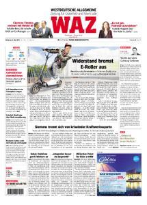 WAZ Westdeutsche Allgemeine Zeitung Oberhausen-Sterkrade - 08. Mai 2019