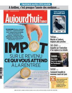 Aujourd'hui en France du Vendredi 16 Août 2019