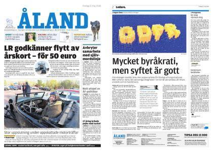 Ålandstidningen – 11 maj 2018