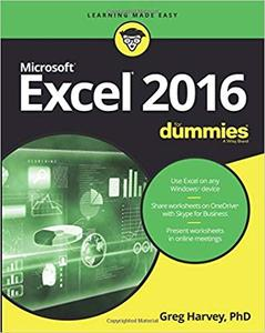 Excel 2016 For Dummies (For Dummies)