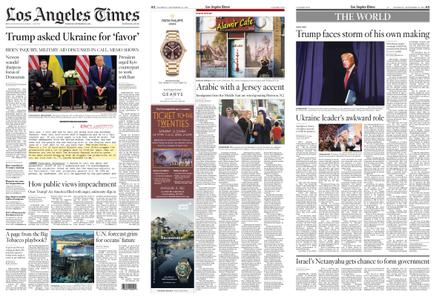 Los Angeles Times – September 26, 2019