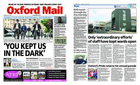 Oxford Mail – June 01, 2019