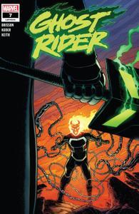 Ghost Rider 007 2020 Digital Zone
