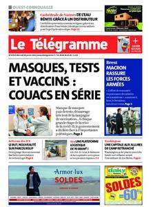 Le Télégramme Ouest Cornouaille – 20 janvier 2021