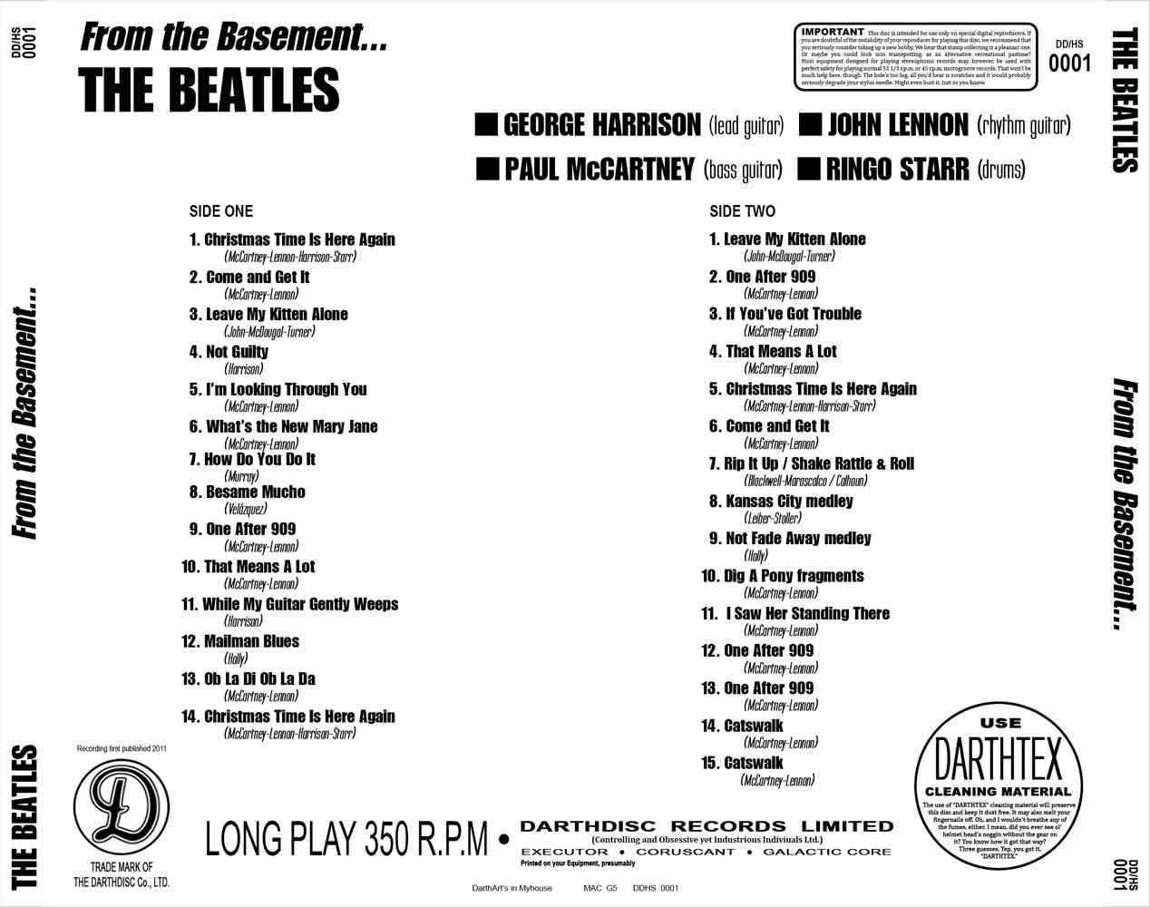 The Beatles - From The Basement To The Boardroom (2CD) (2011