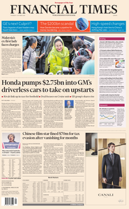 Financial Times Europe – 04 October 2018