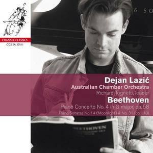 Dejan Lazic, Richard Tognetti - Beethoven: Piano Concerto No. 4, Piano Sonatas Nos. 14 & 31 (2011)