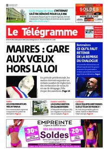 Le Télégramme Brest – 08 janvier 2020
