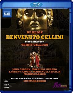 Mark Elder, Rotterdam Philharmonic Orchestra - Berlioz: Benvenuto Cellini (2018) [BDRip]