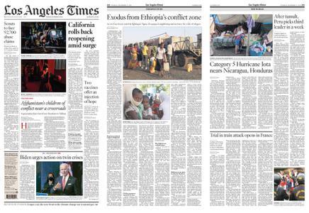 Los Angeles Times – November 17, 2020