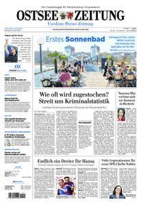 Ostsee Zeitung Wolgast - 23. April 2018