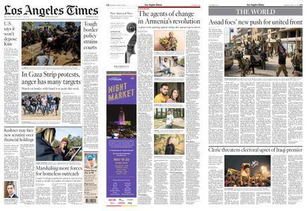 Los Angeles Times – May 14, 2018