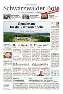 Schwarzwälder Bote St. Georgen, Triberg, Furtwangen - 19. November 2018